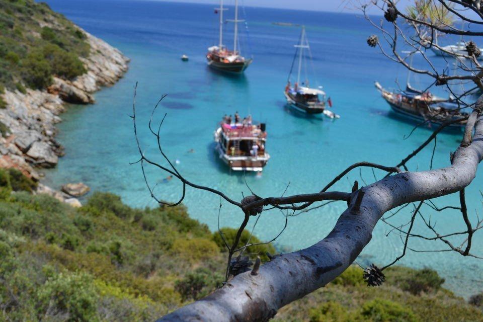 Bodrum'dan Orak Adası'na Tam Günlük Tekne Turu