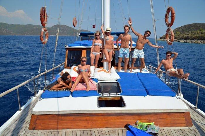 Bodrum'dan: Tam Gün Tekne Cruise